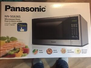 Panasonic the genius microwave