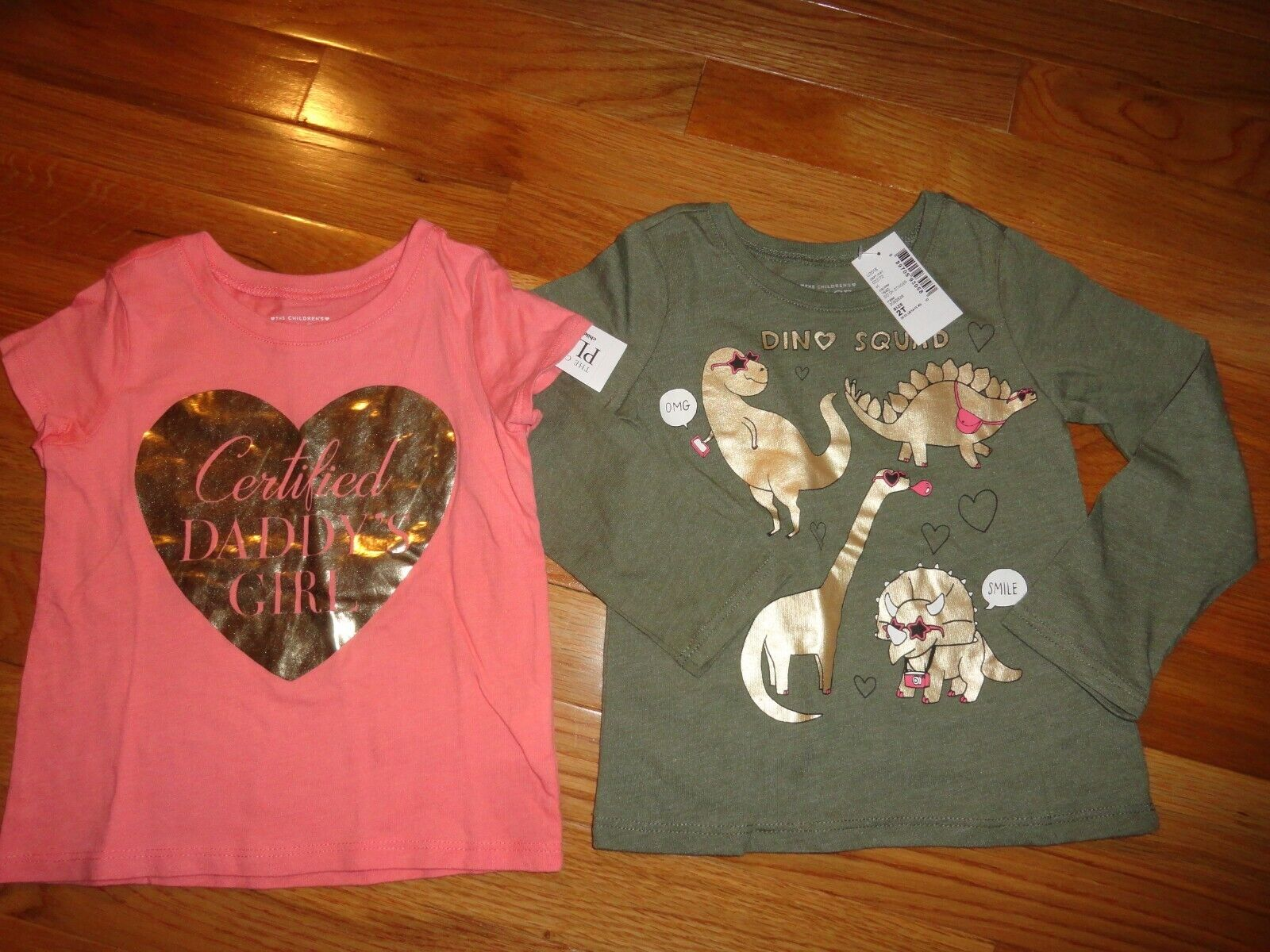 2 girls the children s place shirts