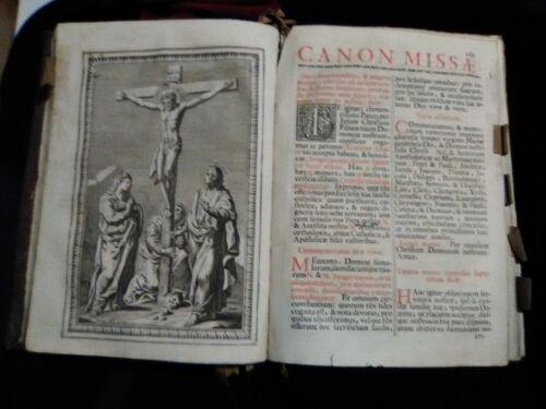 1761 MISSALI ROMANUM EX DECRETO SACROSANCTI  (Clementis VIII & Urbani VIII)