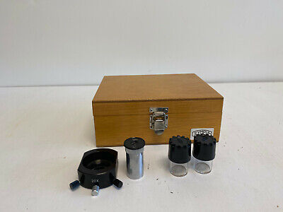 Olympus 20x Im Inverted Microscope Phase Contrast Slider Ct Eyepiece Case