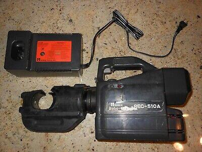 Huskie Rec-510a Robocrimp 12-ton Battery Compression Crimper Tool New Battery