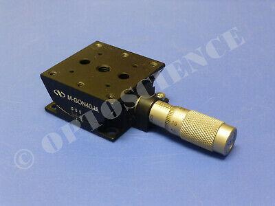 Newport M-gon40-u Upper Goniometer Stage With Sm-13 Micrometer Metric