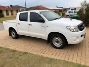 2010 Toyota Hilux Dual Cab Ute Port Kennedy Rockingham Area Preview