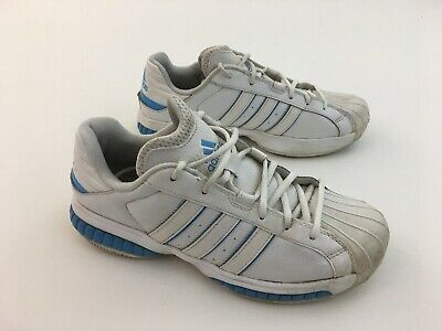 ADIDAS FIT FOAM LOW TOP ATHLETIC SHOES WHITE/BABY BLUE, MENS SIZE 8 (Baby Blue Foams)