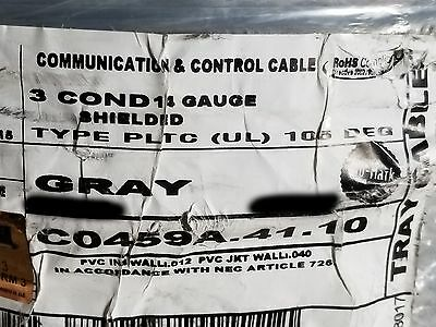 General Cablecarol C0459a 143c Shielded Pltc Controlpower Tray Cable Gry50ft