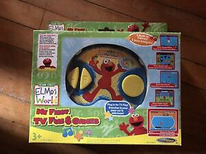 Elmo's My First TV Fun & Games and Elmo's Box of Fun Potty Time