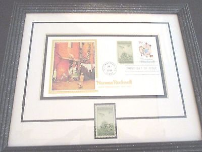 """Norman Rockwell """"The Homecoming"""" 100th Anniversary Collectible Stamp Iwo Jima"""
