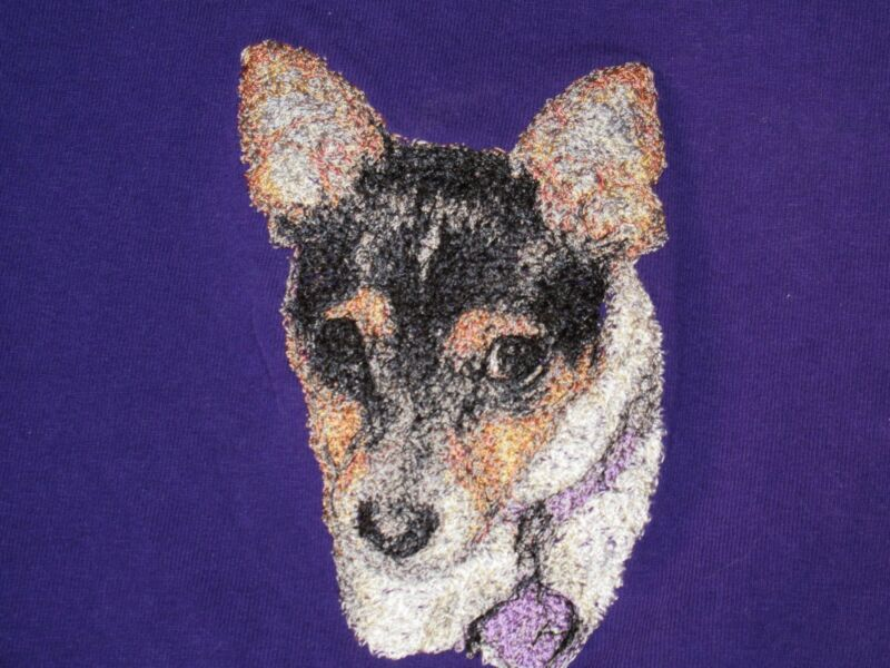 Embroidered Sweatshirt - Rat Terrier AED16220 Sizes S - XXL
