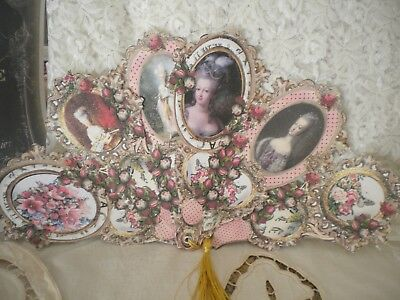 Romantic Marie Antoinette Card (Fan)