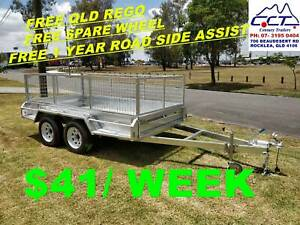 FREE REGO Take Home Layby 10x5 TANDEM WITH CAGE ATM 2000KG