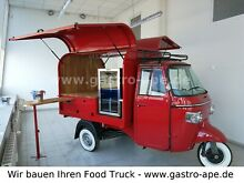 Piaggio APE Food Truck - Streetfood - Kaffee - Wein Bar