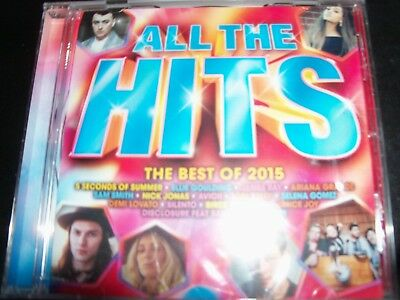 All the Hits - the Best of 2015 Various (Ariana Grande Sam Smith Avicci) CD (Best Of Sam Smith)