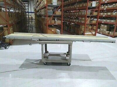 Qc Industries 167857 Inner Drive Modular Belt Conveyor System 131.5 X 18