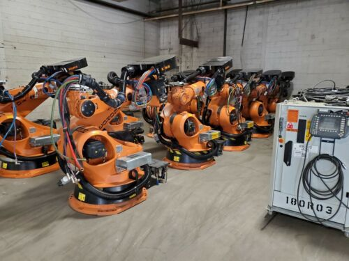 10 - Kuka KR210 Robot Systems! w/ KRC2ed05 Pricing includes Shipping Worldwide!