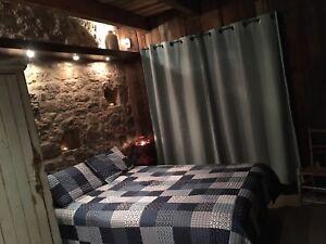 Chalet Rustique  au bord du lac,spa ,sauna