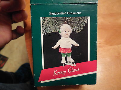 "1989 Hallmark Keepsake Ornament ""Kristy Claus"""