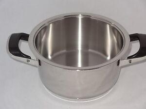Amc olla 3 1 litros tencere sart n sartenes bater a de cocina ollas olla ebay - Amc baterias de cocina ...