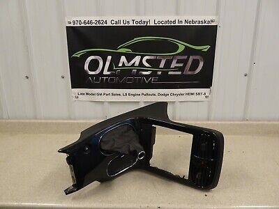 05 13 Corvette C6 Z06 Center Console Shifter Trim Bezel GM Carbon Fiber 23K Boot