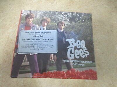 Bee Gees - The Studio Albums 1967 - 1968 6 CD Box set Sealed