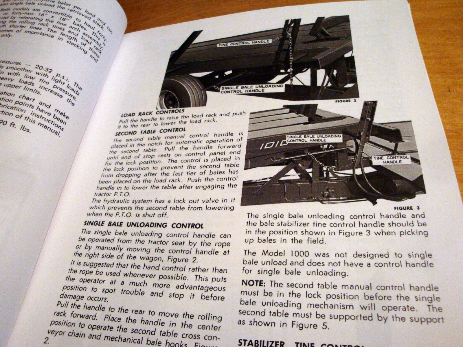 2 of 7 New Holland 1000 1005 1010 Bale Wagon Operator's Owners Book Guide  Manual NH