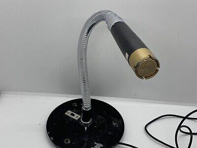 Vintage 1960's Calrad DM-37F Microphone Japanese Used Old Midcentury MCM Parts