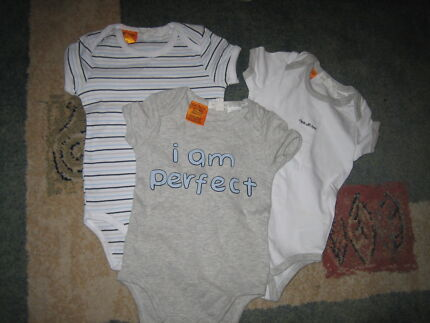 pumpkin patch body suits, size 6 to 12 months Narre Warren South Casey Area Preview