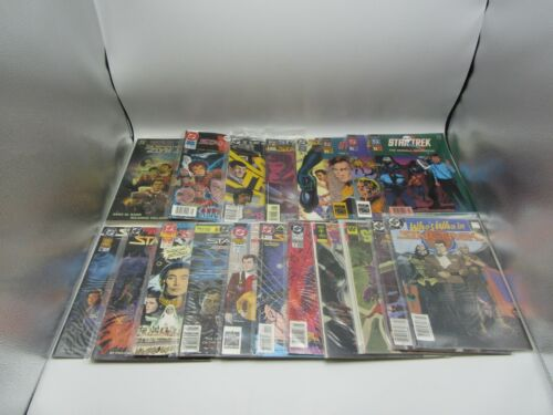 DC Comics Gold Key Star Trek Comic Book Lot of 19 Comics, Annuals, Who