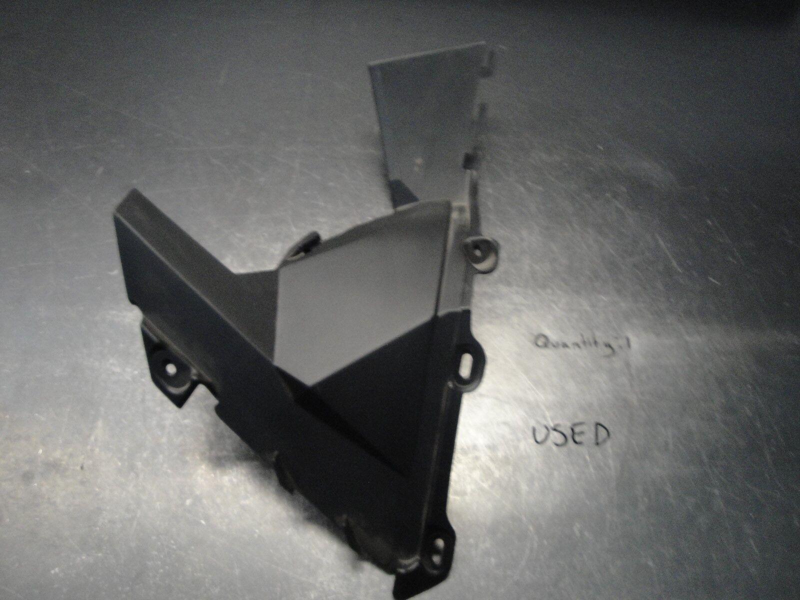 SKIDOO  MXZ MXZX BLIZZARD SUMMIT SNOWMOBILE BODY PLASTIC GUARD PANEL BLACK