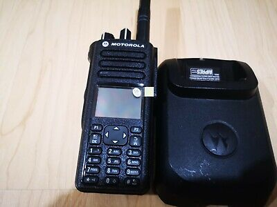 DP4800e UHF Radio  with new unused battery and IMPRESS charg. DMR, Analogue HAM.