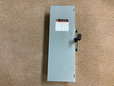 Square D Dtu321 Double Throw 30a 240v Nonfusible Safety Switch