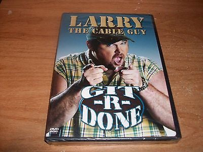 Larry The Cable Guy Git-R-Done (DVD, 2004) Comedy Show NEW Larry Cable Guy Shows
