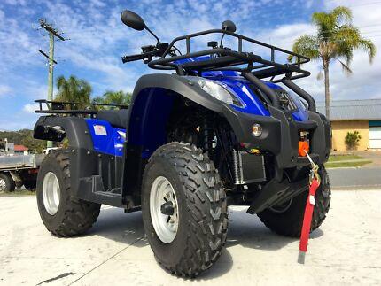 JIANSHE 250CC FARM QUAD ATV HUNTING AG BIKE