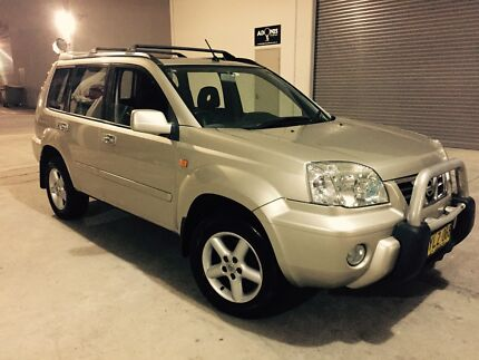 Nissan X-Trail Ti Luxury 2003 All Mode 4x4 Auto Sunroof Leather Castle Hill The Hills District Preview
