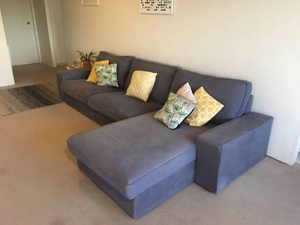 Chaise Lounge GREAT CONDITION IKEA KIVIK Sofas