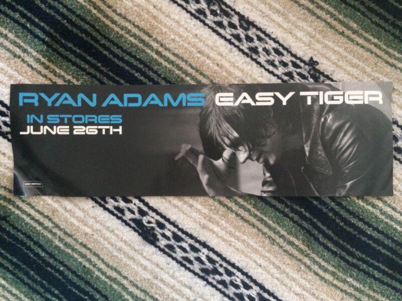 6x20 poster RYAN ADAMS Easy Tiger promo No Pinholes promotional & Cardinals