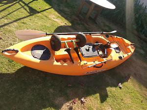 Malibu mini X fishing kayak Sturt Marion Area Preview
