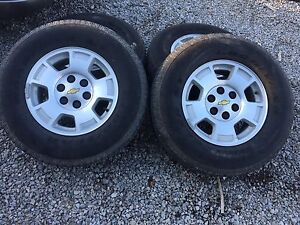 Silverado rims and tires