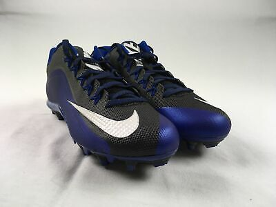 NEW Nike Alpha Pro TD - Blue/Black Cleats (Men's 13)
