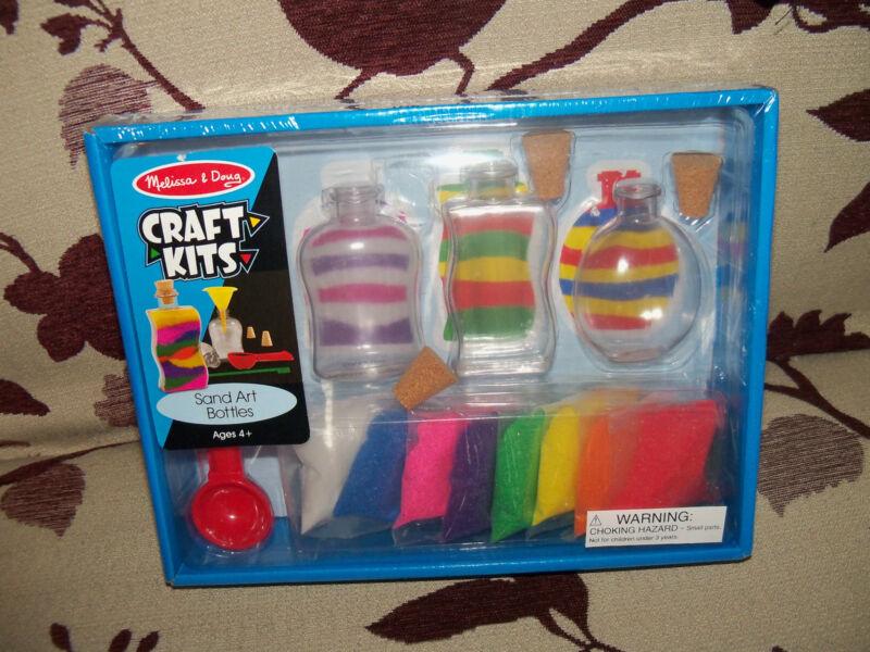 Melissa & Doug Craft Kits Sand Art Bottles Set NEW