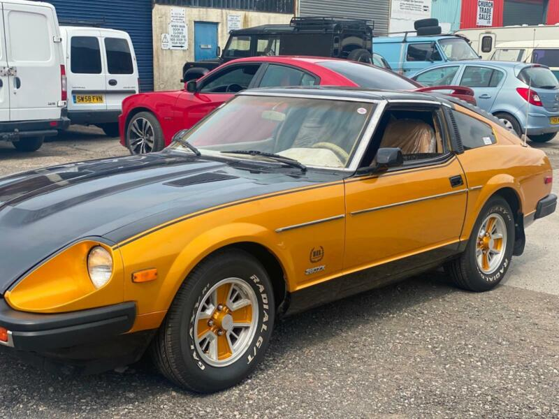 Image of DATSUN 280 ZX 10th anniversary limited edition with SKYLINE RB25 ENGINE LHD