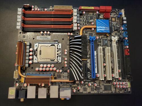 ASUS P6T Deluxe V2, Intel i7-920 2.66Ghz, 6GB PC-1600 Mhz Ram, I/O Shield