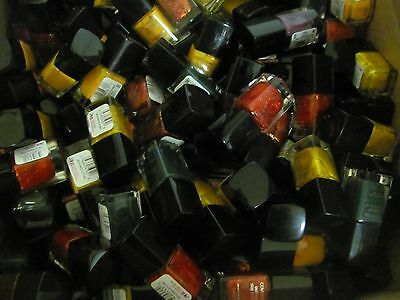 Lot of 100 COVERGIRL OUTLAST nail polish assortment of colors.GOOD MIX!!