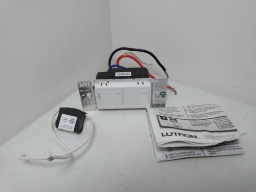 Lutron PD-5S-DV-WH Electrical Distribution Switcher Color: White