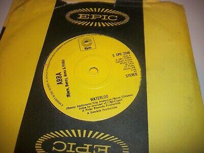 "ABBA- WATERLOO VINYL 7"" 45RPM co"