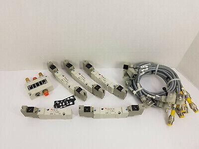 Smc Air Valves Lot - 3 Sy7240-5dz 1 Sy7240-5dz-02n 1 Sy7140-5dz Plus