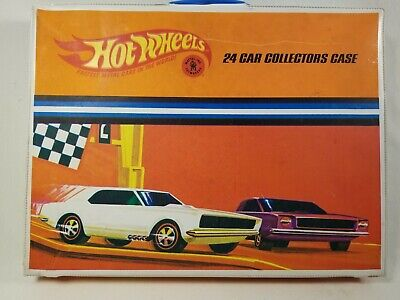 Vintage Hot Wheels Redline 1967 24 Car Collector's Case - Nice - Complete
