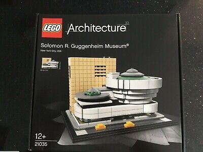 LEGO Architecture Soloman R. Guggenheim Museum 21035 - Brand New