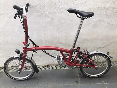 *Excellent Condition* - 2020 Red Brompton M6L Folding Bike