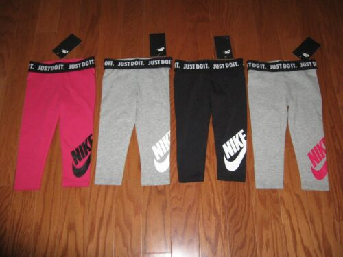 NIKE GIRLS  ATHLETIC JOGGERS WITH SWOOSH SIZE 2T/3T/4T/4  NWT