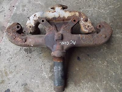 Allis Chalmers Tractor Gleaner Engine Motor Wd45 Exhaust Manifold W Pipe